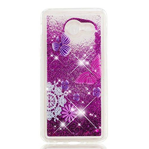 Samsung Galaxy J5 2017 Hülle,Nnopbeclik® Samsung Galaxy J530 Liquid Crystal Bling Bling Soft Flex Silikon Hülle Maßgeschneidert Passgenau Bumper-Style Handyhülle Premium Kratzfest TPU Durchsichtige Schutzhülle für Samsung Galaxy J5 2017 5.2 Zoll [US Modell]