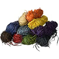 Creation Station 500 g 10 x 50 g Raffia , 10 Assorted Colours preiswert