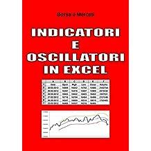 Indicatori e Oscillatori in Excel