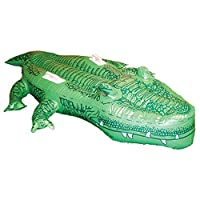 Peeks 1.6m Inflatable Crocodile Austrailan Safari Beach Pool Water Float Toy
