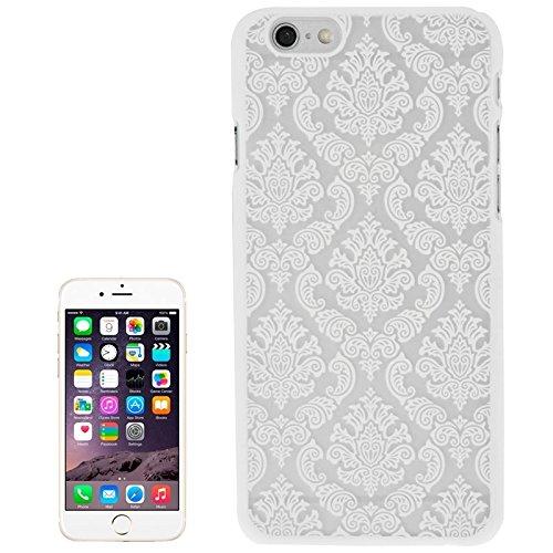 Phone case & Hülle Für IPhone 6 Plus / 6s Plus, Gravur Blume Kunststoff Schutzhülle ( Color : White ) White