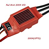 Red Brick 200A ESC Brushless ESC OPTO NO BEC 200A ( OPTO )
