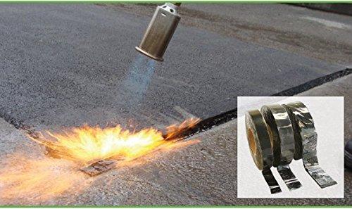 Bitumen-Band, 10Meter, Tarmac Joint Overbanding 10metre (40mm wide), schwarz, 1