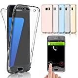 TPU Full Body 360 ° Transparent Cover Samsung Galaxy S6