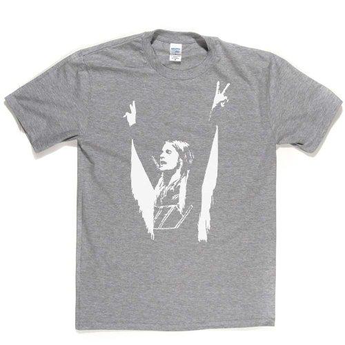 Ozzy 1975 Metal Rock Music Tee T-shirt Aschgrau