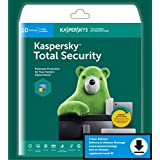 Kaspersky Total Security 10-Device, 3-Account KPM, 1-Account KSK 1 year (Single Key) (Email Delivery in 2 Hours - No CD)