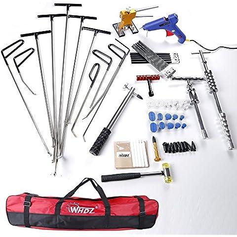 PDR Rod–Kit per porta Ding riparazione Set PDR martello scorrevole Gule pistola Dent martello rubinetto–Auto body Dent