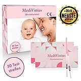 MediVinius® Ovulationstest 50 Streifen - Fruchtbarkeitstest für Frauen -...