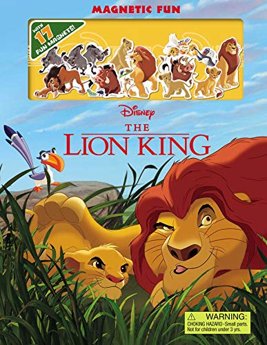 Disney The Lion King Magnetic Fun (Magnetic Hardcover) -