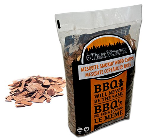 MESQUITE smoking / smoker wood chips - for Smokers , BBQ's, Ovens , Smoking tins : 900g