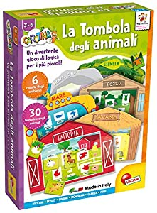 Juego Educativo Carotina Baby Tab de Lisciani Giochi 60863 Bingo de Animales