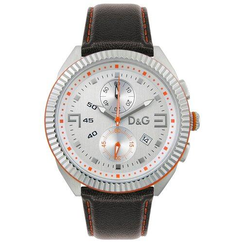 D&G Dolce&Gabbana DW0033 - Reloj para hombres, correa de cuero