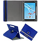 Fastway Rotating 360° Leather Flip Case For Lenovo Tab 4 8 Plus 16 GB 8 Inch With Wi-Fi+4G Tablet BLUE