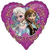 Amscan 2984201 - Folienballon Disney Frozen Love, Spiel