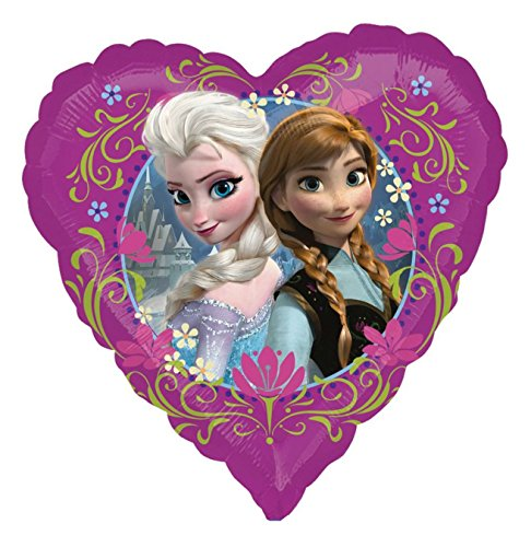 Disney Party Frozen Spiel (Amscan 2984201 - Folienballon Disney Frozen Love,)