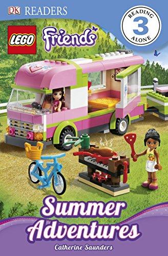 DK Readers L3: Lego Friends: Summer Adventures (Lego Friends: Dk Readers)