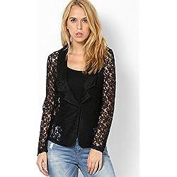 VERO MODA Women's Blazer (1691270001_Black_38)