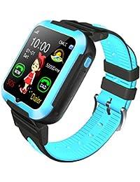 Aesy Reloj Inteligente para Niños, Reloj Inteligente para Niños con Rastreador GPS y Soporte SIM