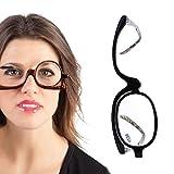 Cold Toy VergrößErungs Make-Up Lesebrille Brille Flip Up Linse Links Und Rechts … (+4.00)