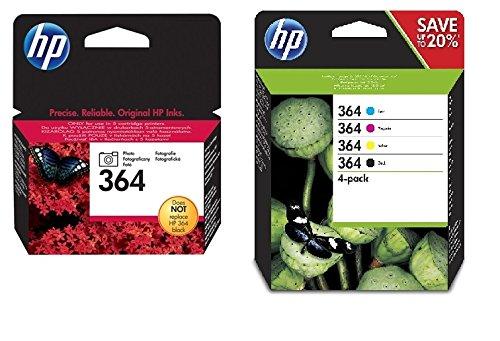 Hewlett Packard  No.364 Photosmart Value Pack Genuine (Photosmart Ink Hp C310)