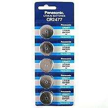 Panasonic CR2477 3V Lithium Battery 1PACK X (5PCS) =5 Single Use Batteries