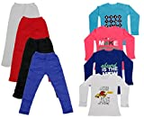 Indistar Girls 4 Full Sleeves Cotton T-S...