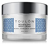 Night Creme for Women; Natural Face Moisturiser for Dry Skin & Mature Skin with Vitamin C, Cocoa Butter & Grapeseed Oil to Build Collagen, Reduce Wrinkles & Firm Neck and Decollete