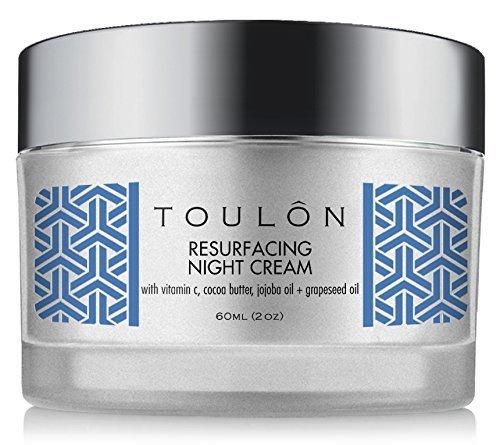 Nachtcreme - Nachtpflege Gesicht - Nachtpflegecreme für Frauen - die beste natürliche Gesichts Feuchtigkeitscreme für trockene Haut und reife Haut mit Vitamin C, Kakaobutter u. Traubenkernöl