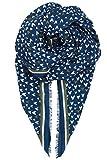 Becksöndergaard Herzchen Schal Damen Heartkey Herzen Blau Medieval Blue Weiß Grün Weich Baumwolle 1707604004-253
