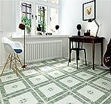 BKPH Imitation Fliese Teppichboden Aufkleber Shop Wohnkultur Klebekachel Bodenaufkleber Wandaufkleber