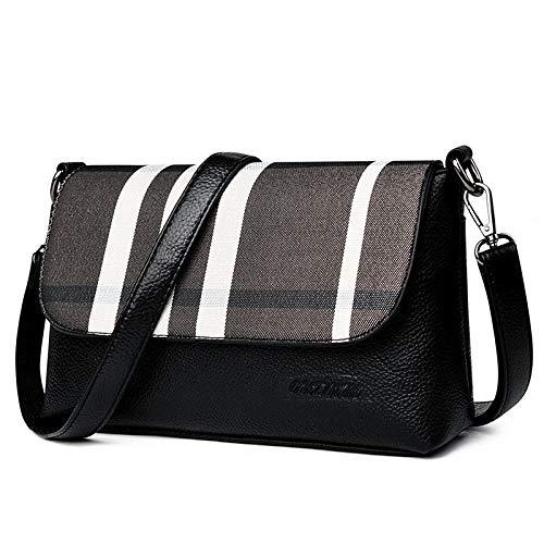 101bc1533159c yangpengfei Bolsa Marea Femenina versión Coreana de Las Damas Messenger Bag  Plaid pequeño Bolso Cuadrado Personalidad