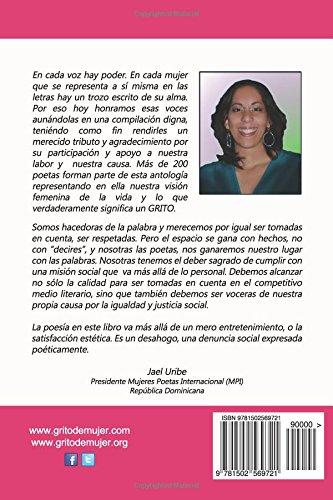 Grito de Mujer: Antologia Internacional de Mujeres Poetas: Volume 1
