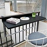 Ailj Table De Sol Murale, Table Suspendue Balcon Table Pliante Suspendue en Aluminium Bureau...