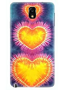 Spygen Premium Quality Designer Printed 3D Lightweight Slim Matte Finish Hard Case Back Cover For Samsung Galaxy Note 3
