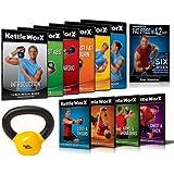 Kettleworx 2013 Ultra 10 DVD Set + Free 10lb Kettlbell