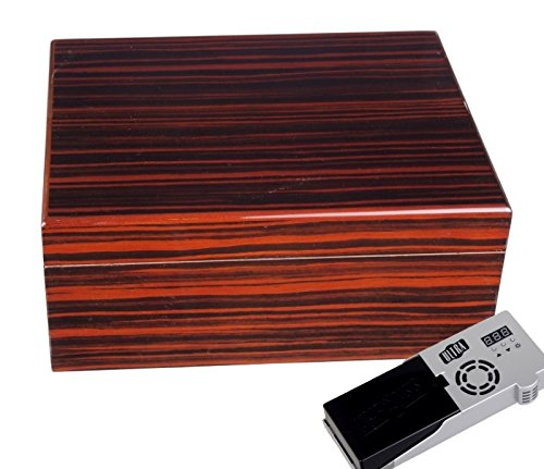 Cigar Oasis Ultra Savoy by Ashton Humidor Macassar medium inkl. Lifestyle-Ambiente Tastingbogen