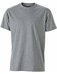 JAMES & NICHOLSON - t-shirt de travail indéformable - manches courtes col rond - JN838 - homme