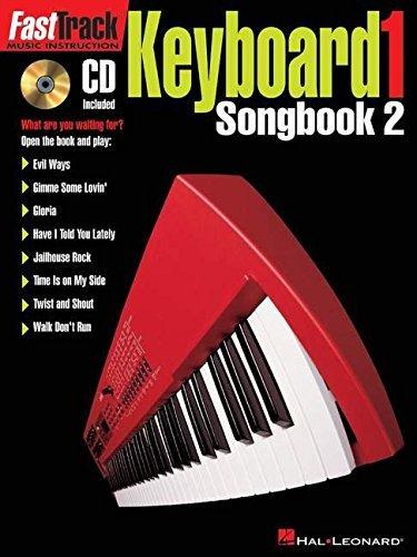 FASTTRACK KEYBOARD SONGBOOK 2 LEVEL 1 BK/CD (Fast Track (Hal Leonard)) (Pt. 2) by Hal Leonard Corp. (1999-05-01)