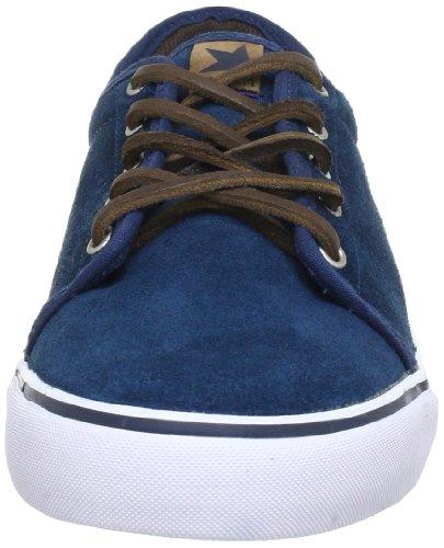 Dekline Santa-Fe-Chad-Tim-Tim 602403, Scarpe da skateboard unisex adulto Blu (Blau/MID/TAN)