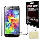 [Pack de 3] TECHGEAR Samsung Galaxy S5 Mini (SM-G800) Film de Protection Ultra Clair pour Écran LCD avec Chiffon de Nettoyage & Carte d'Application