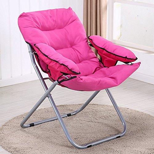 Beanbag Klappstuhl Klappstuhl Diwan einzelner Außen Stuhl Metallstuhl rot / pink / braun / grün / violett / orange , pink