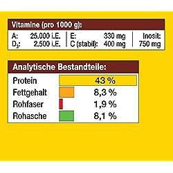 JBL Alleinfutter für alle Aquarienfische, Flocken 1 l, NovoBel 30140