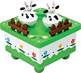 New Classic Toys - 9385 - Boîte À Musique - Vaches