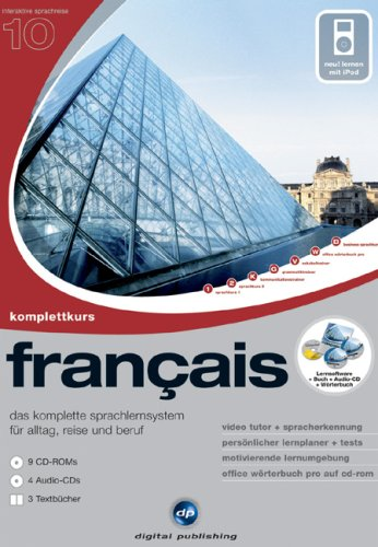 Interaktive Sprachreise V10: Komplettkurs Französisch