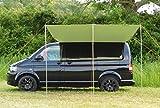 DEBUS VW Wohnmobil Vordach/Sonnensegel - Waldgrün