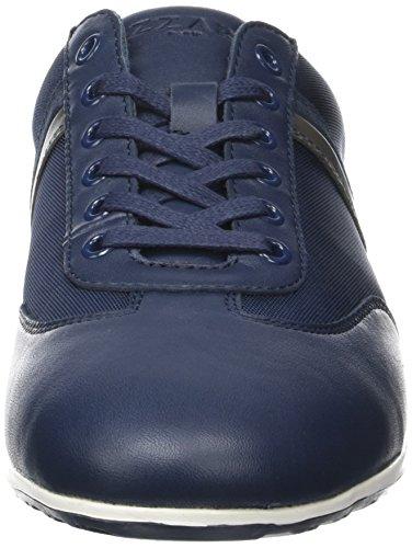 Azzaro Pontoi, Baskets Basses Homme Bleu (MARINE+ANTHRACITE)