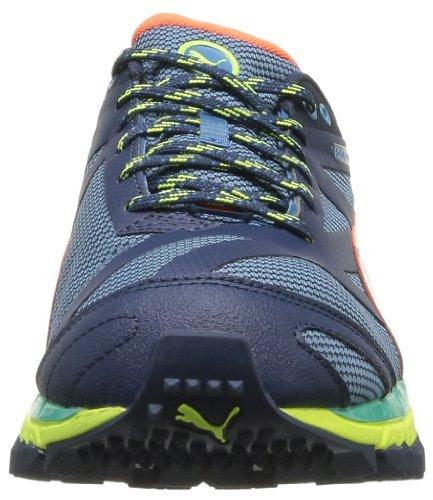 Puma Faas 500Tr, Chaussures de trail homme Bleu (Metallic Blue/Blue/Peach)