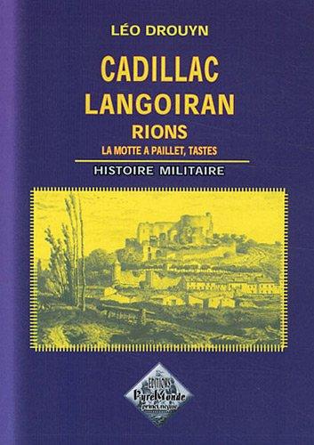Cadillac Langoiran Histoire Militaire