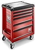 \'Facom primetools Rouleau. 6m3Armoire à roulettes Mobile 6tiroirs rouge
