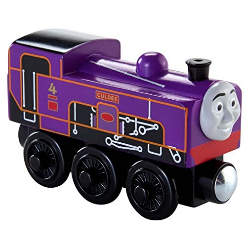 Fisher Price Toy - Thomas and Friends Wooden Railway - Train Engine Culdee - Limited Edition